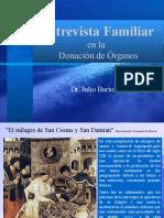 2016 - Entrevista Familiar y Donción de Organos - STIC A