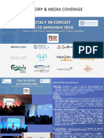 Case History & Media Coverage Italy in Circuit