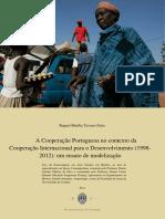 Faria, Raquel - A Cooperação Portuguesa No Contexto Da Cooperação Internacional Para o Desenvolvimento (2014)