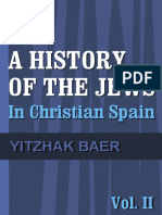 Baer a History of the Jews in Christian Spain