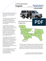 Fact Sheet for FDOT Rural Vanpool Program