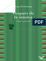 Despues de La Musica - Diego Fischerman