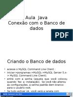 Aula Java Conexão Com BD
