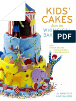 Kids' Cakes from the Whimsical Bakehouse by Kaye and Liv Hansen--excerpt