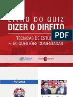 Livro Quiz - Dizer o Direito