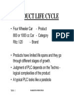 4, Product Life Cycle