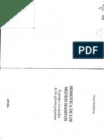 STEIMBERG, OSCAR - LIBRO Y TRANSPOSICION - Semi¢tica de los medios masivos