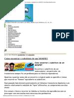Como encontrar o substituto de um MOSFET _ Paulo Brites Eletrônica & etc.pdf