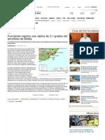 Fuengirola Registra Una Réplica de 3,1 Grados Del Terremoto de Melilla - La Opinión de Málaga