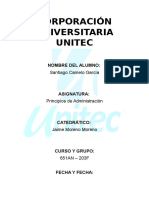 Informe de empresa UNITEC