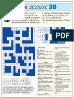 Prize Crossword 38
