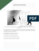 Exercícios - Linguagem Verbal e Não Verbal