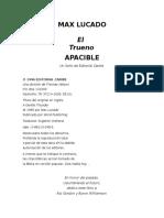 Lucado Max - El Trueno Apacible.rtf