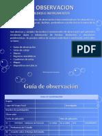 Instrumentos de La Observacion