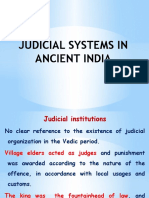 Judicial System in Ancient India