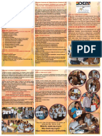 Triptico Gobiernos Estudiantil 2015
