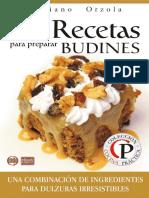 84 Recetas Para Preparar Budine - Mariano Orzola