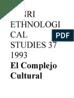 Senri1993 Ethnological Studies 37