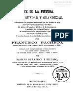 El Arte de La Pintura - Su Antiguedad y Sus Grandezas de Francisco Pacheco en PDF (Descarga Gratuita)
