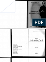 MEIHY - Manual de História Oral