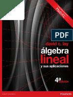 Algebra Linel y Sus Aplicaciones David C. Lay