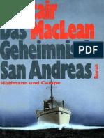 Alistair MacLean - Das Geheimnis Der San Andreas
