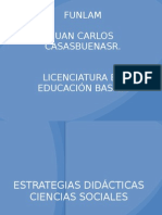 Estrategias Pedagogic As Ciencias Sociales