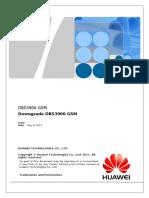 Downgrade BTS GSM