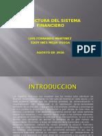 Estructura Del Sistema Financiero en Colombia