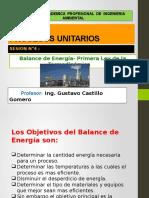 Cla 4. Balance de Energia