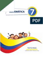 Texto Estudiante Matematicas 7mo