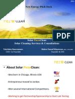 Solar PiezoClean New Energy