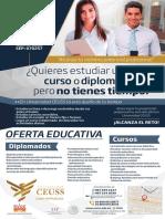 Cartel Cursos y Diplomados