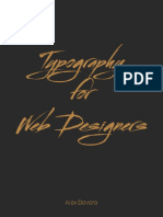 Typography for Web Designers