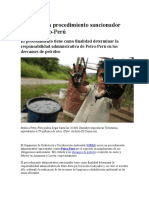 Inicia Procedimiento Sancionador Contra Petro