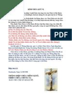 Thông Điệp # 1 -Do Chúa Giêsu ban qua chị Guadalupe