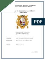 Informe Previo de Electrotecnia 2