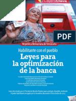 Leyes Para La Optimización de La Banca