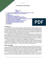 Credito Publico Generalidades