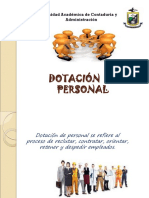 Dotacion de Personal
