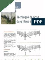 Technique de Pose Du Grillage a Mouton (1)