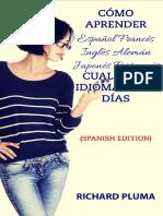 Como Aprender Espanol Frances I - Richard Pluma