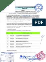 Acta Presentacion y Evaluacion Colegio Sogoron Alto 2da Convocatoria