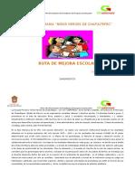 Ruta de Mejora Ciclo Escolar 2016 -2017 2corre (1)