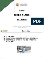 2016-02 Tema 02 Tejido Plano - El Urdido