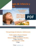 Psicopatología de Infancia y Adolescencia Grupo