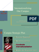 Internationalizing Our Campus
