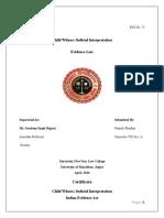 Manish Bhaskar Evidence Project