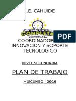Plan de-trabajo CIST 2016