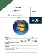 01 - Sistema Operativo Windows